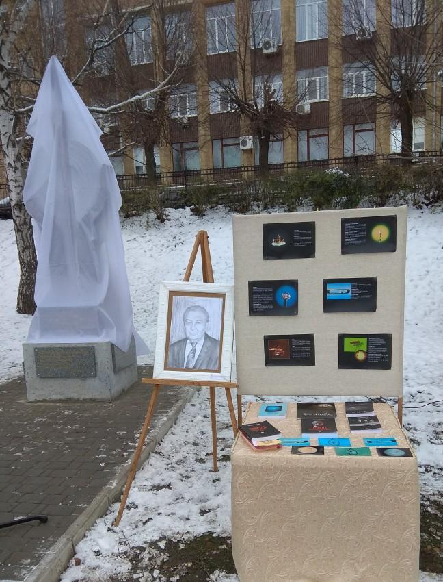 Альбом: Скульптурну композицію за роботами М.С.Сядристого відкрито